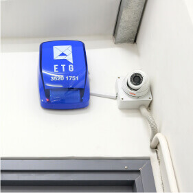 24-Hours CCTV Security System